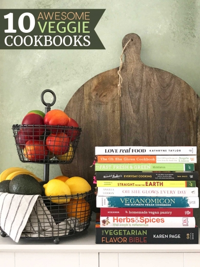 Best Vegetarian and Vegan Cookbooks | findingveggiejoy.com
