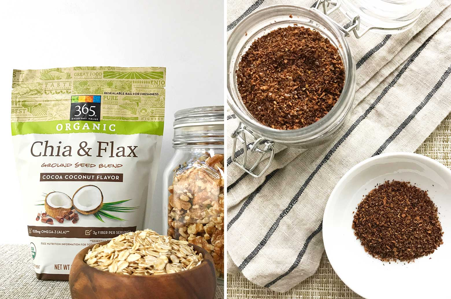 Whole Foods Chia and Flax Ground Seed Blend
