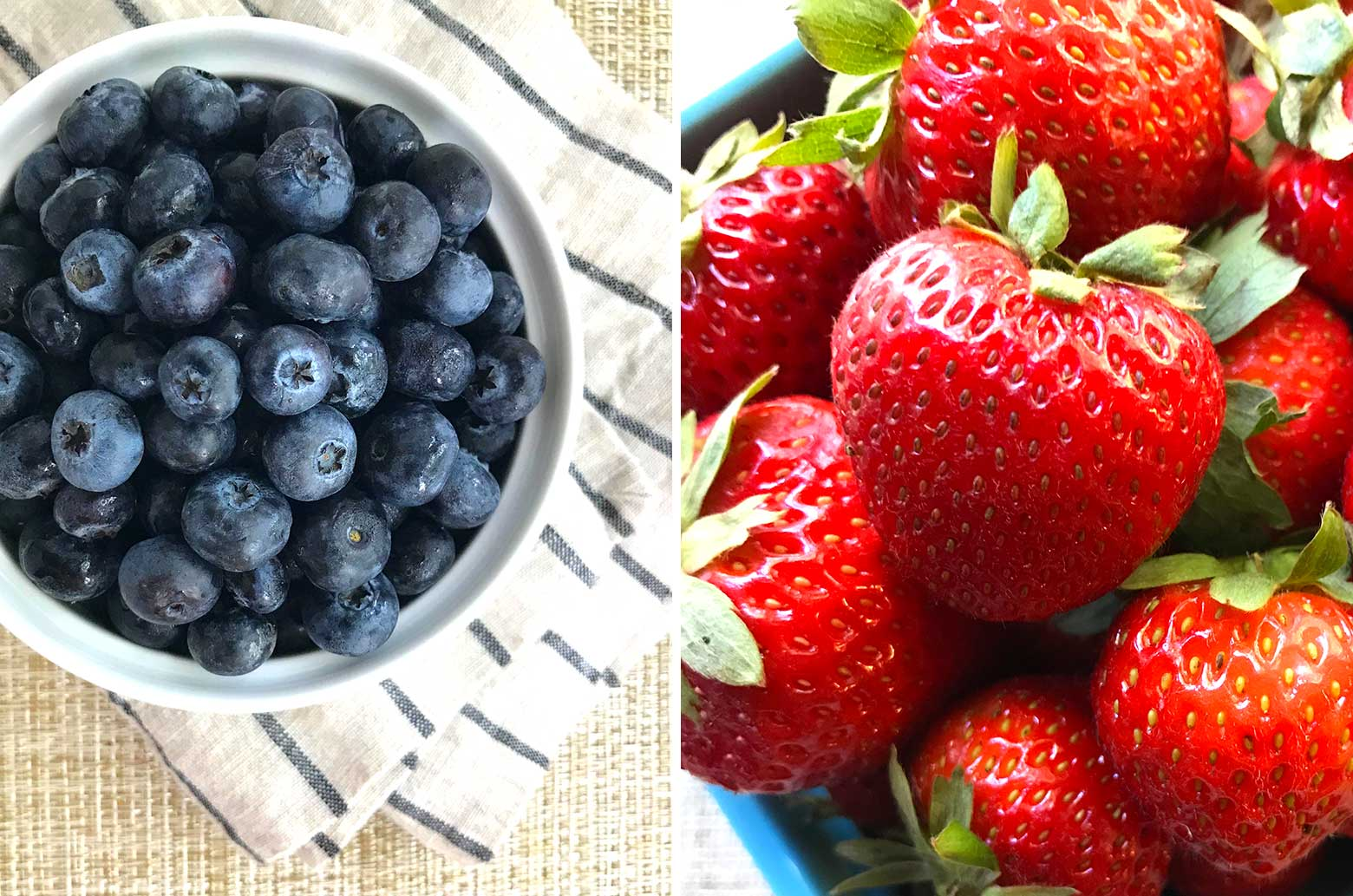 Easy Oatmeal Breakfast with Chia Flax and Fresh Berries | findingveggiejoy.com