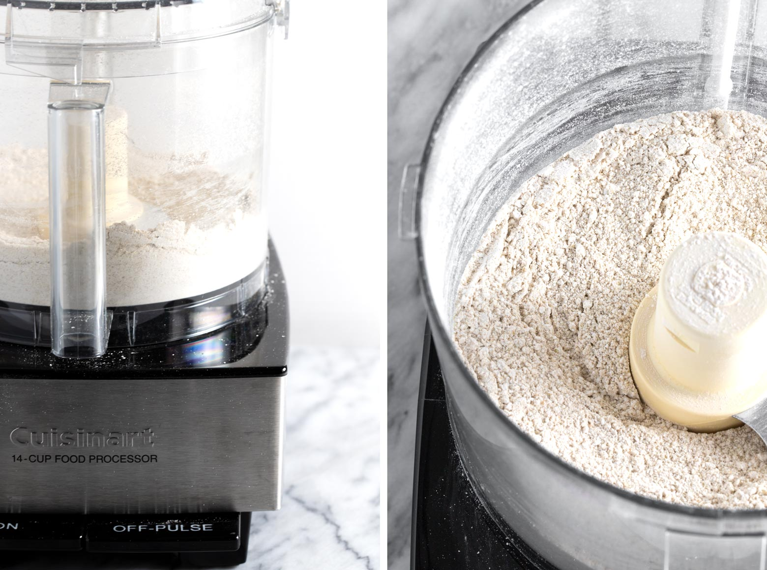 Make your own buckwheat flour with a food processor.